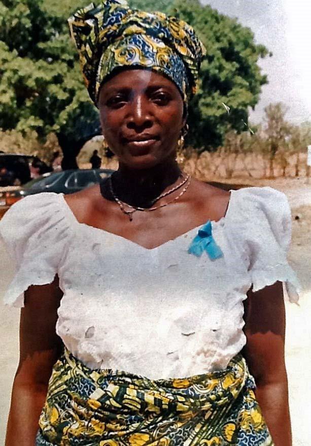 Rose Monday kuoli suojellessaan lapsenlapsiaan. Kuva: Morning Star News